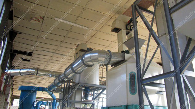 Sawdust Wood Pellet Production