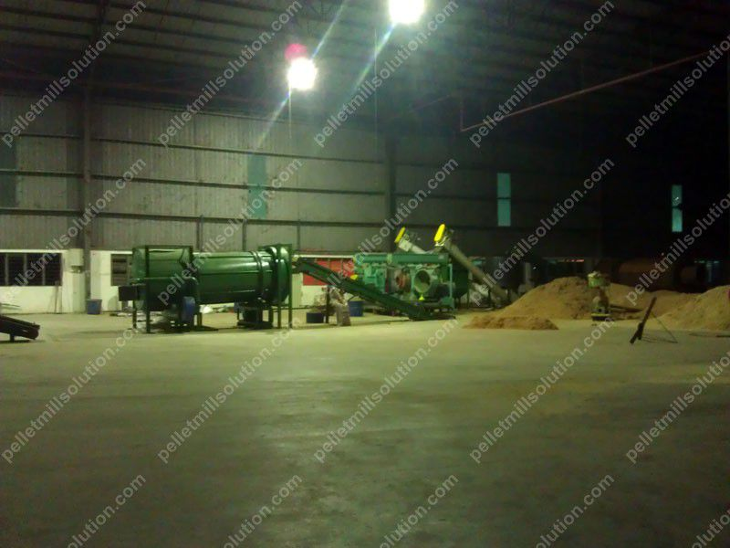 Wood Pelleting Line in Malaysia