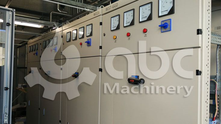 automatic control system PLC section