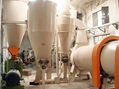1.5TPH Bio Pellet Production Line in Domestic