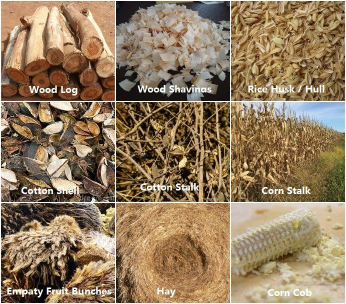 biomass materials for pelleting