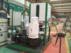 Movable Biomass Pelletizing Machine Set Exported to Canada
