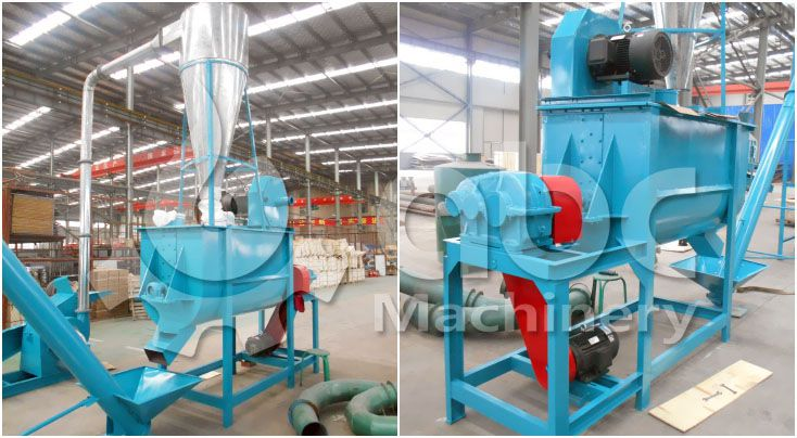 cattle feed mixing equipment for small cattle feed milling company