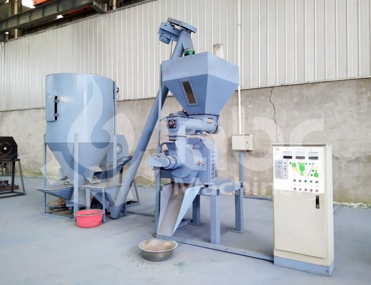 cattle feed pellet mill plant for mini and small scale production line