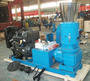 diesel engine wood pellets machinery for hard wood