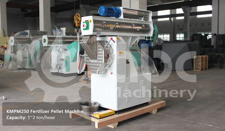 fertilizer pellet making machine for processing chicken manure