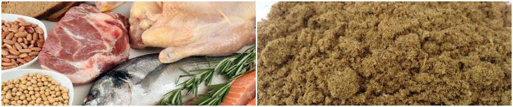 fish meal or animal protein for manufacturing feed pellets