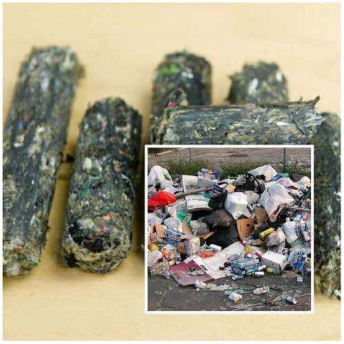 garbage pellet production