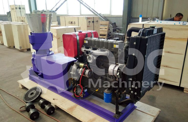 hardwood pellet mill machine for small scale production