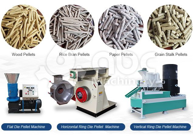 machines for making wood pellets