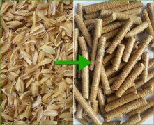 Rice Husk Pellet Mill Production Line