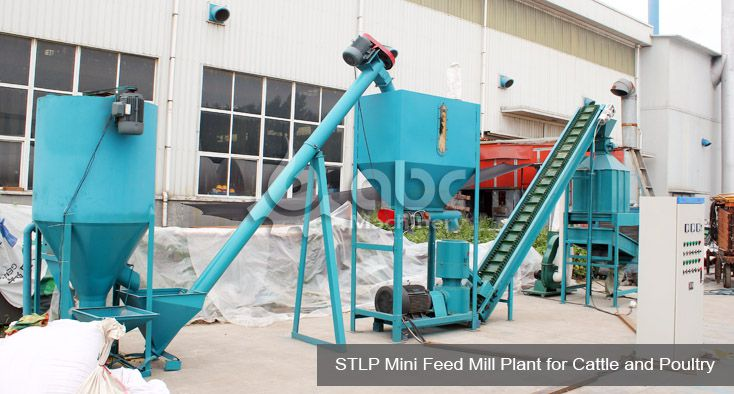 low cost mini cattle feed plant for sale