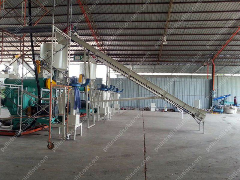pellet production line