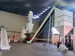 1.5TPH Palm Fiber Pelletizing Factory Built in Malaysia