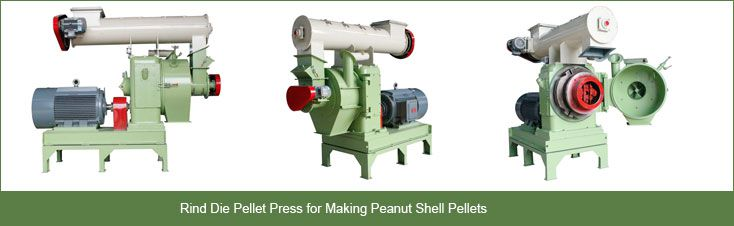 peanut shell pellet press