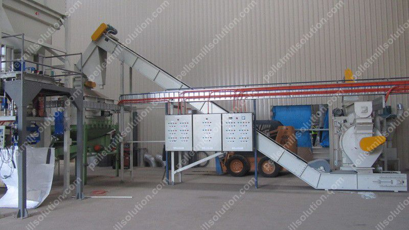 Pellet Mill and Pellet Belt Conveyer