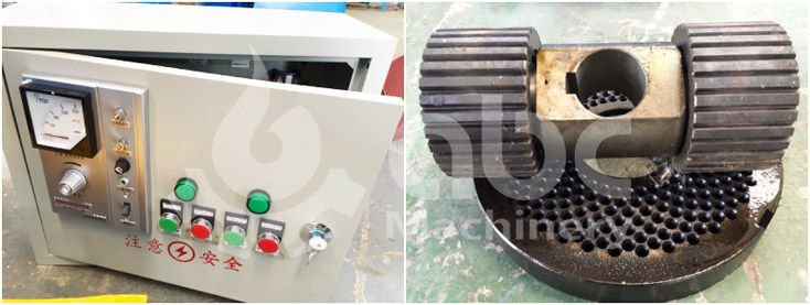 pelletizing machine parts - flat die and press roller