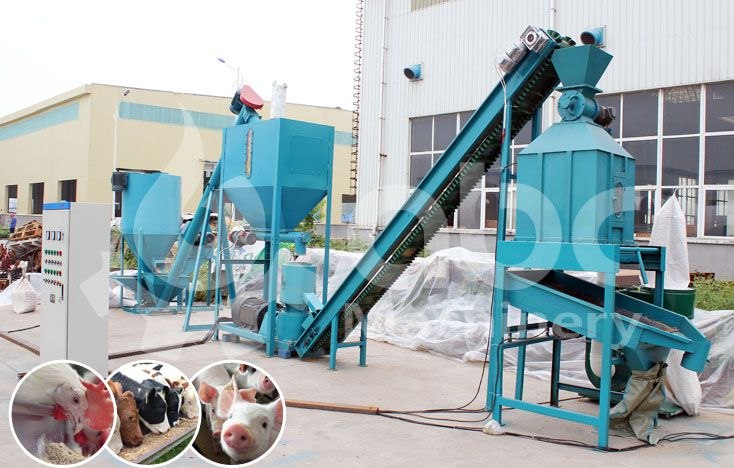 Small Poultry Feed Pellet Mill Plant For Sale At Factory Price