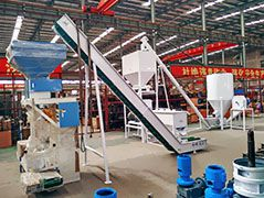 1 ton/h Poultry Feed Line