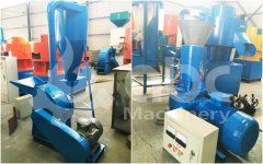 Pelletizing Machine for Rice Hulls Ordered by French Client