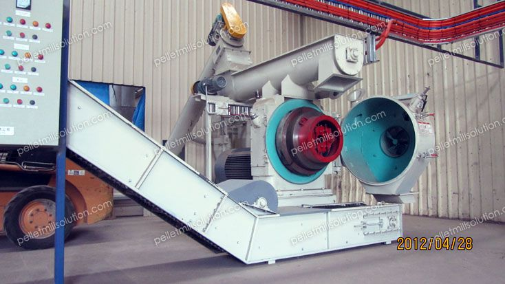 ring die biofuel pellet machine for complete production plant
