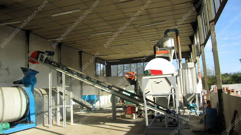 Sawdust Wood Pelletizing Solution