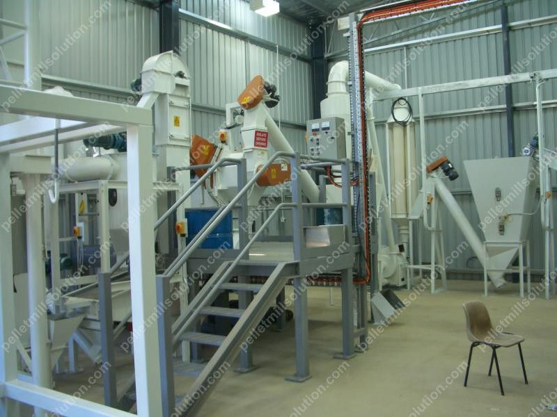 Ton small wood pellet plant for sale