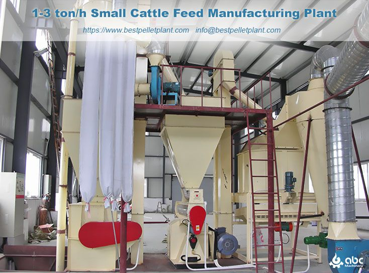 small cattle feed manufacturing plant
