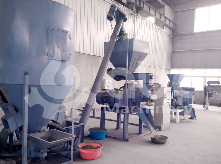 small sized feed pellet mill plant for cattle and poultry
