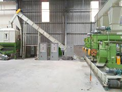 5TPH Wood Pellet Fuel Manufacturing Plant in Vietnam
