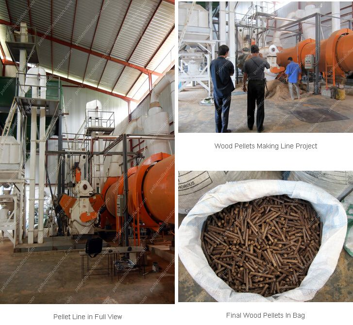 wood pellet plant projects