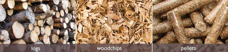 wood to pellets
